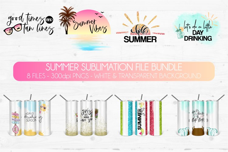 Summer Sublimation Bundle | Beach Sublimation Graphics