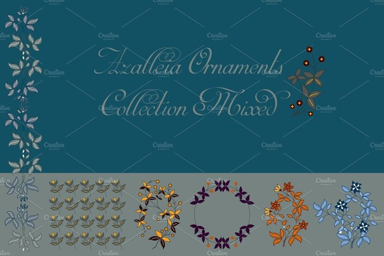 Azalleia Ornaments Collection Mixed example image 1