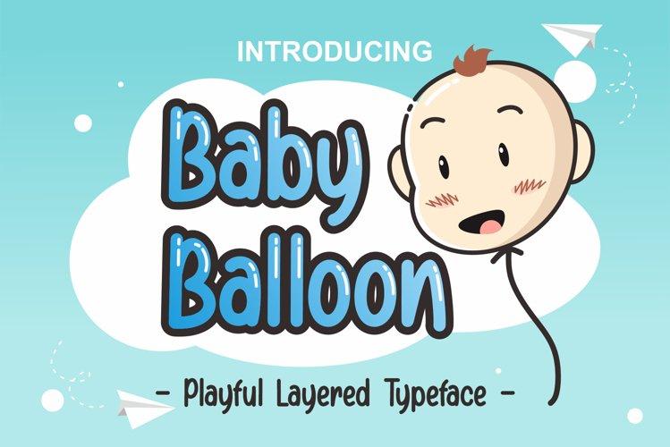 Baby Balloon example image 1