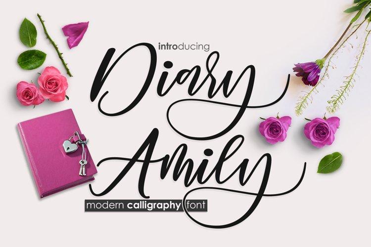 Diary Amily example image 1