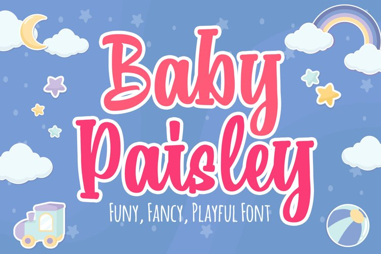 Baby Paisley example image 1