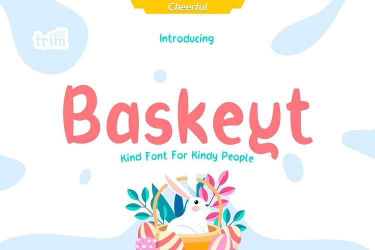 Baskeyt - Kind Font for Kindly People example image 1