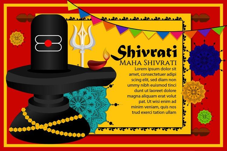 Shivling Lingam Illustration example image 1