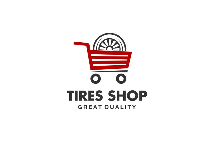 tire shop logo example image 1