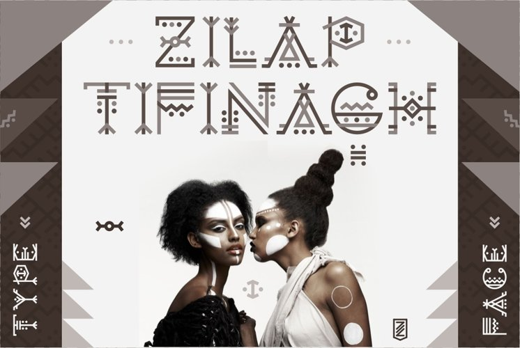 Zilap Tifinagh example image 1