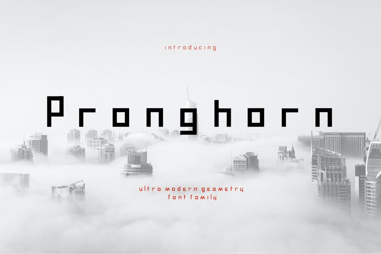 Pronghorn Font Family example image 1