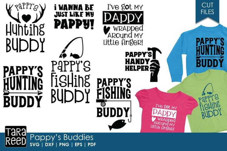Pappy S Buddies Svg And Cut Files For Crafters 277272 Cut Files Design Bundles
