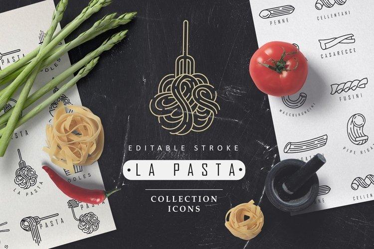La Pasta logo elements example image 1