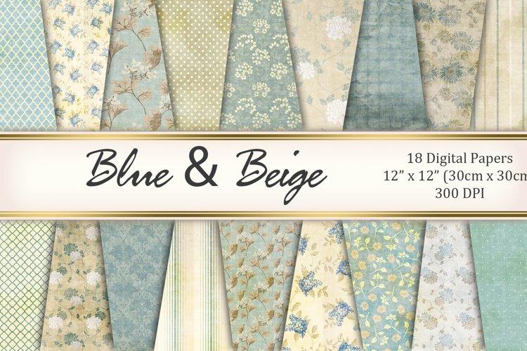 Blue&Beige