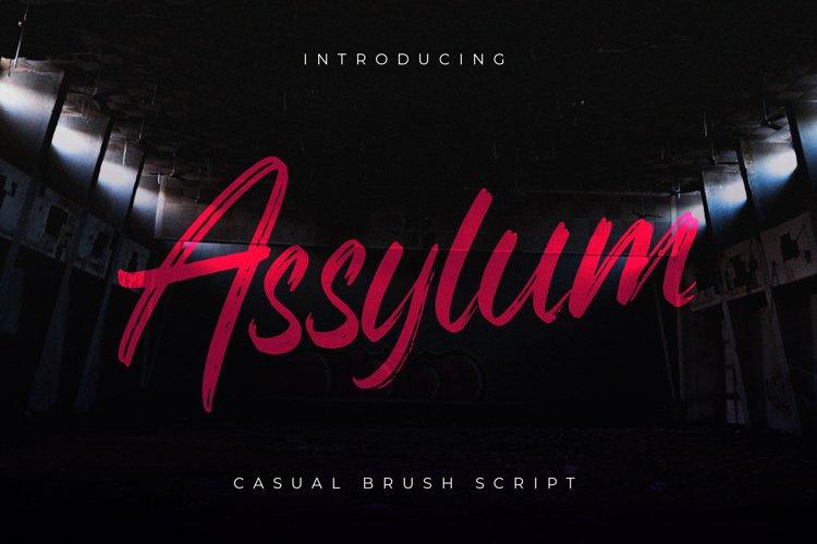 Assylum Font example image 1