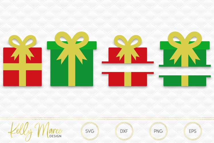 Christmas Gift SVG Files