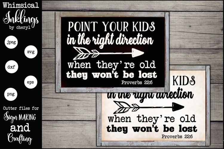 Point Your Kids SVG example image 1