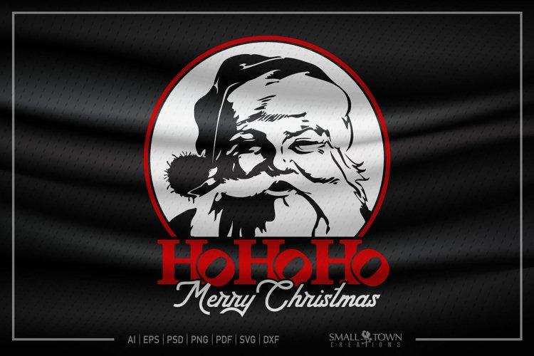 Merry Christmas, Santa Claus, Christmas, PRINT, CUT & DESIGN