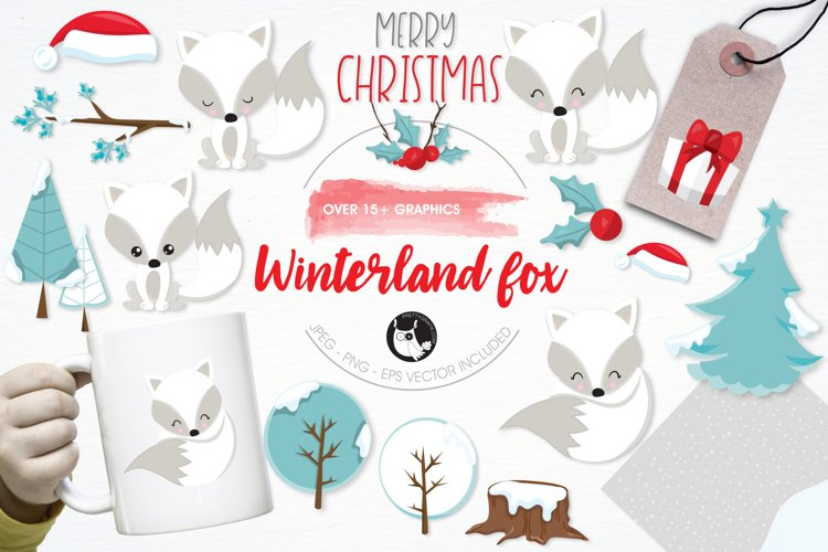 Winterland Fox graphics and illustrations example image 1