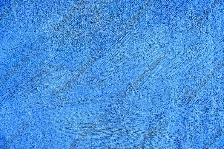 blue paint texture of old building wall
