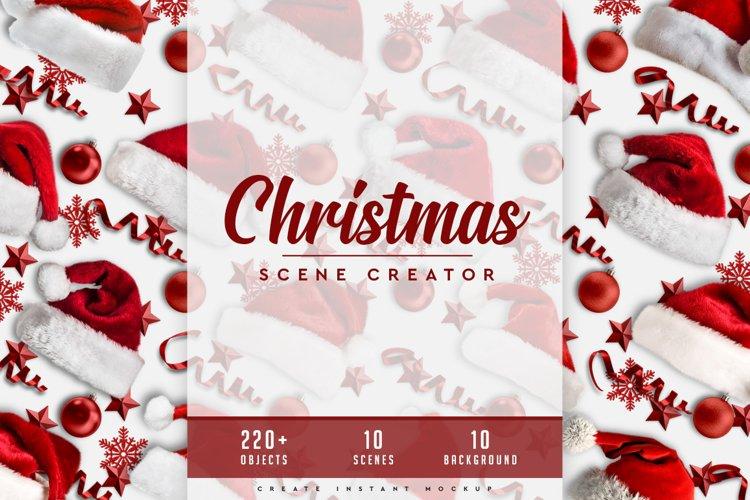 Christmas Scene Creator #01