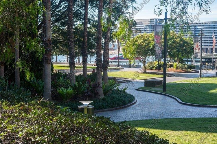 Pathway to the MCA. The Rocks. Sydney. Australia. example image 1
