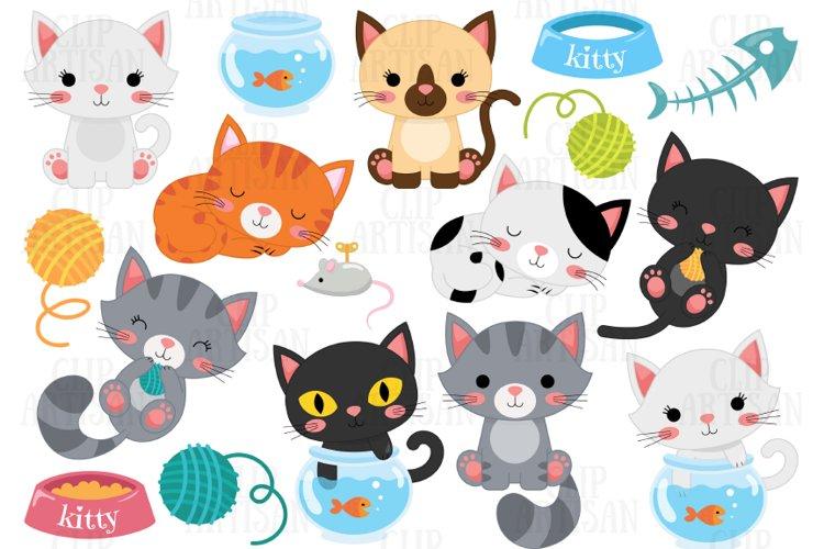 Cat Clipart, Kitten Clip Art, Pets Clipart
