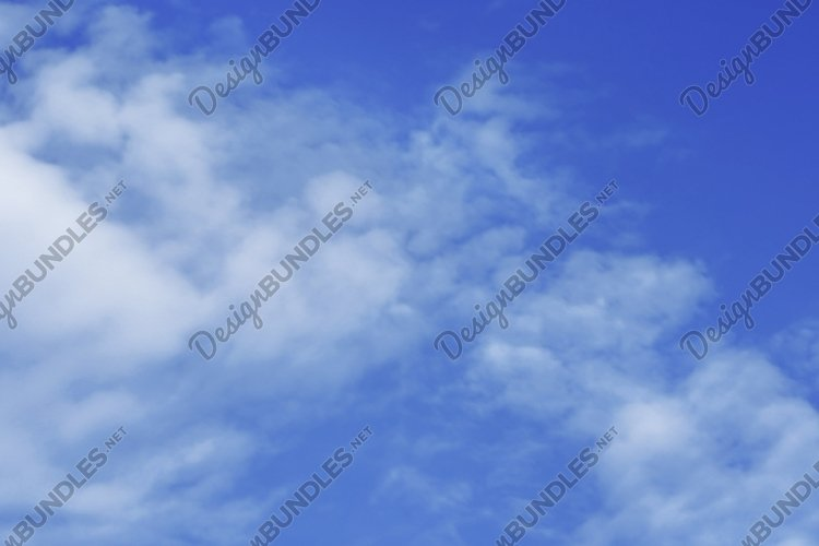 Amazing cloudscape on the sky at day time. example image 1