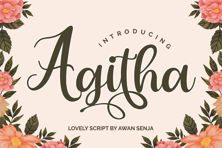 Agitha example image 1