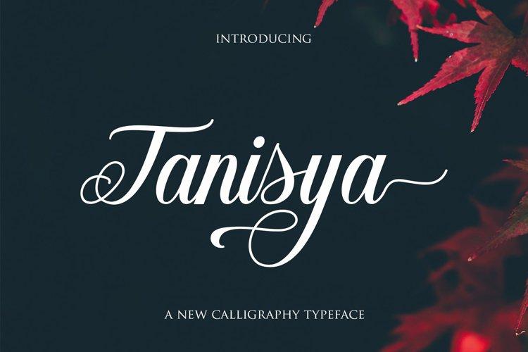 Tanisya Script example image 1