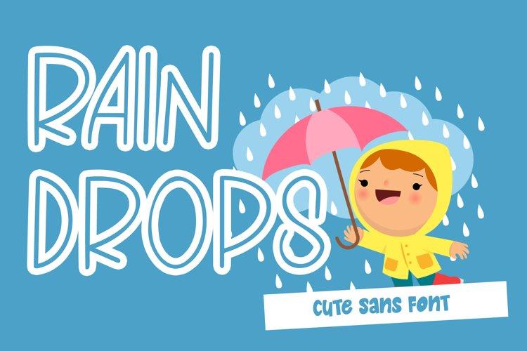 Raindrops example image 1