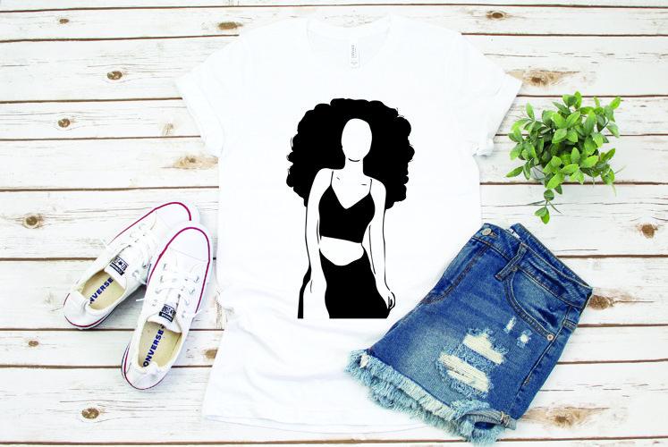 Woman black, woman, girl black, 82P example image 1