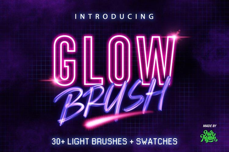 30 Procreate Glow Brushes example image 1