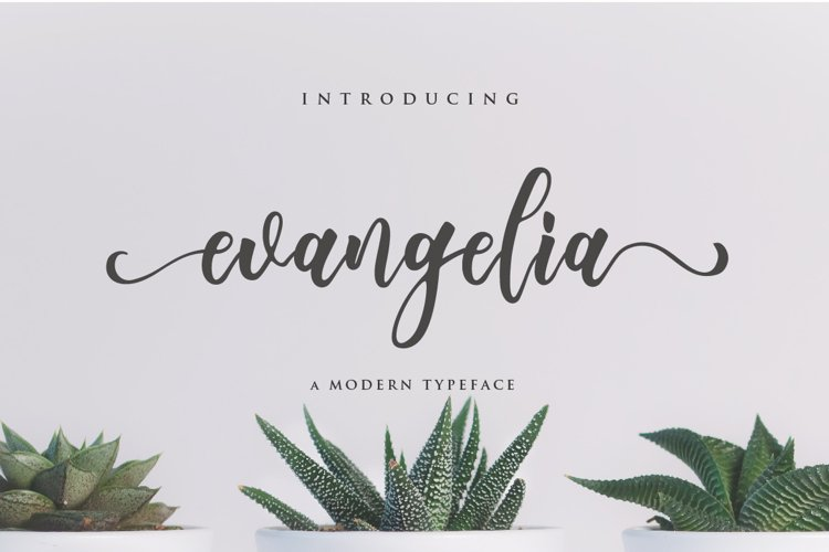 Evangelia Script example image 1