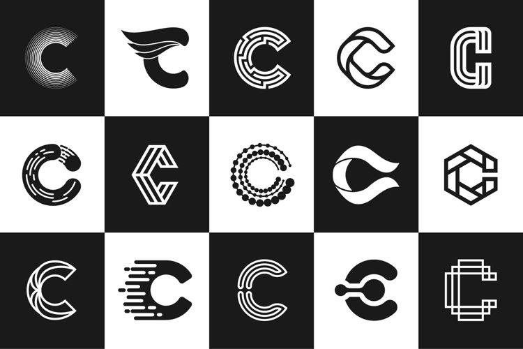 The Logos Letter Aphabet C