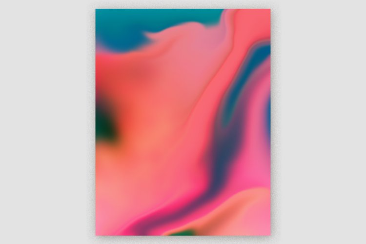 Gradient Marble Art Digital Paper #07 example image 1