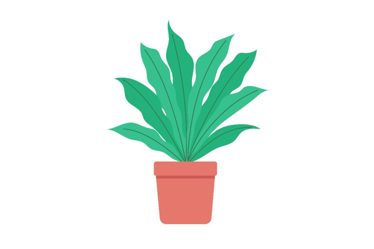 Plant vector art and graphic design example image 1