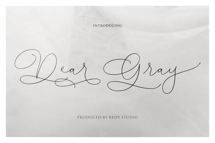 Dear Gray example image 1