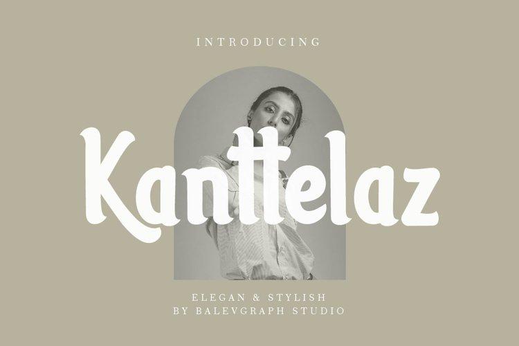 Kanttelaz Font example image 1