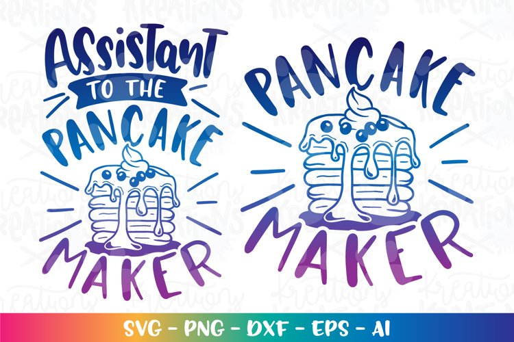 Baking svg Cooking svg Pancake Maker svg Matching shirts