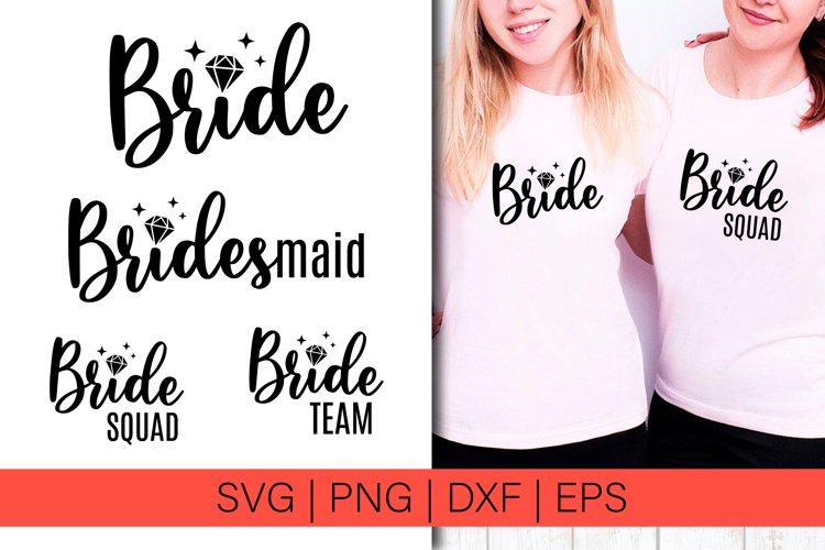 Wedding SVG Bridal Shower Bride SVG Diamond