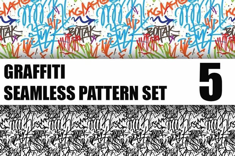 GRAFFITI PATTERNS set