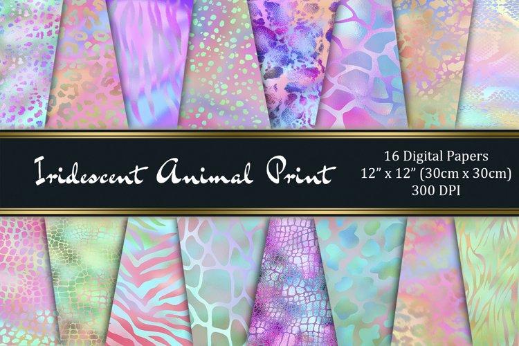 Iridescent Animal Print