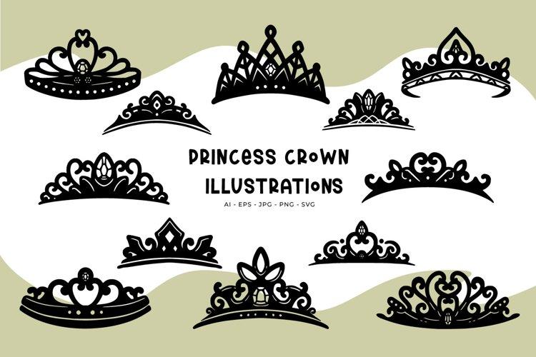 Princess Crown illustrations