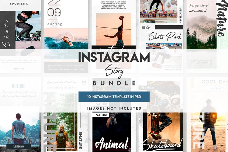 10 unique instagram story templates