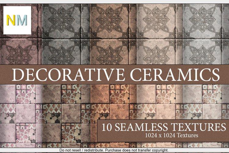 Decorative Ceramics 10 Seamless Stone Textures