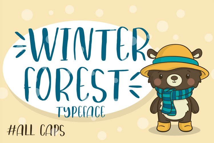 Winter Forest example image 1