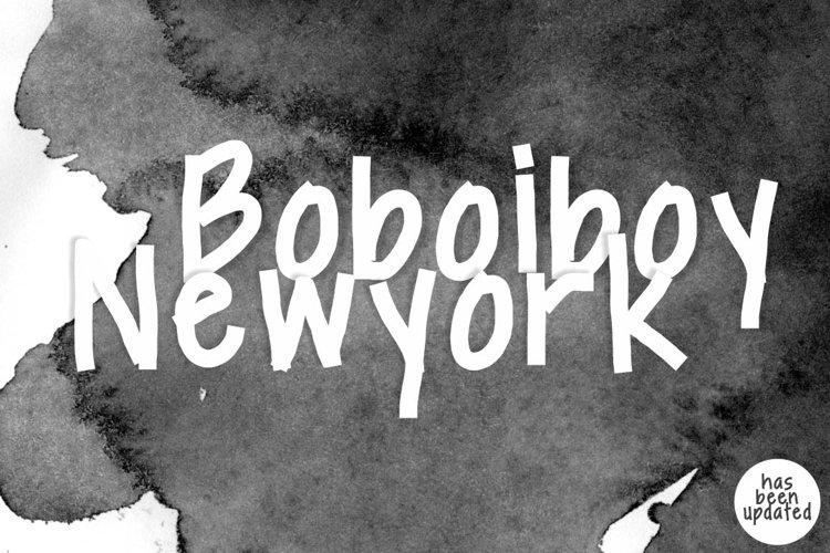 Boboiboy Newyork example image 1