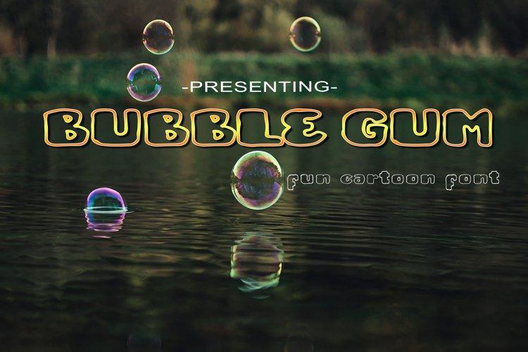 Bubble Gum example image 1
