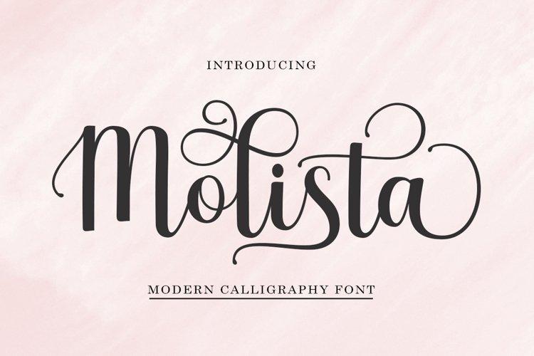 Molista Script example image 1