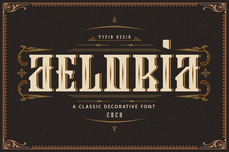 Aeloria - Vintage Decorative Font example image 1
