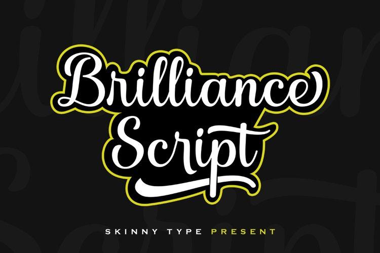Brilliance Script example image 1