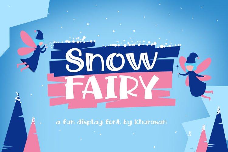 Snow Fairy example image 1