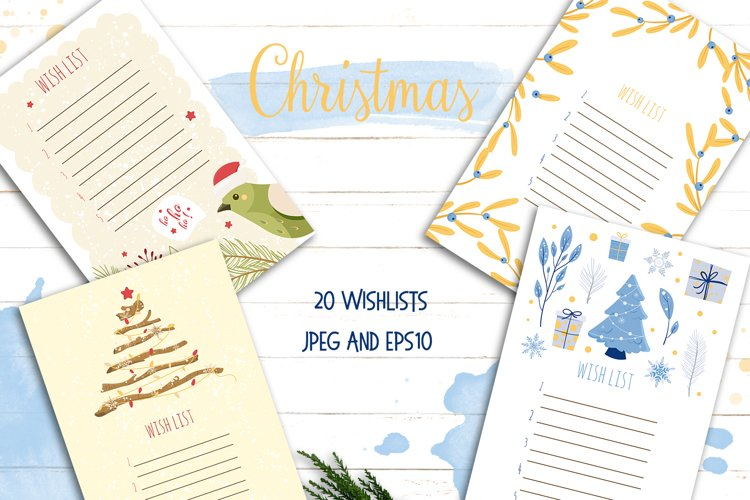 Wish List Christmas Santa letter