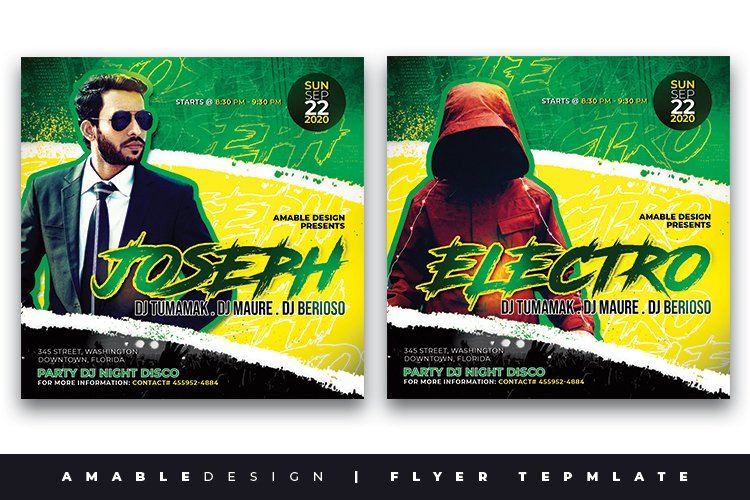 Guest Dj Flyer example image 1